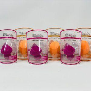 10pc- 5 sculpting sponges/ 5 complexion sponges